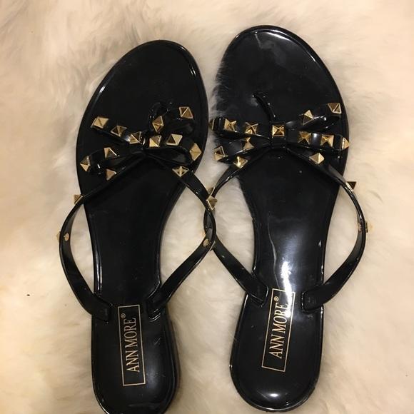 Ann Moore Shoes Ann Moore Jelly Stud Flip Flops Poshmark
